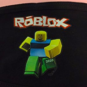 """NEW Roblox face  mask 11 1/2"""" adult size"""